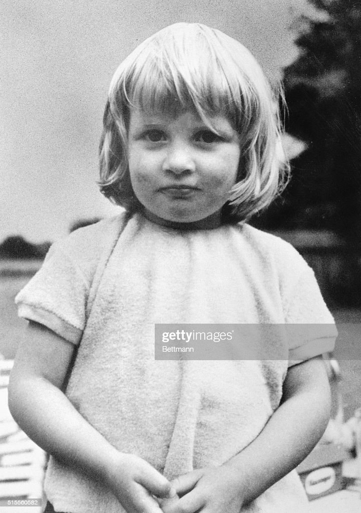 Lady Diana Spencer is to be 20 July 1. She and Britain's Prince Charles are to marry July 29th. In this picture from her family album, Lady Diana, 3, is at Park House, Sandringham.