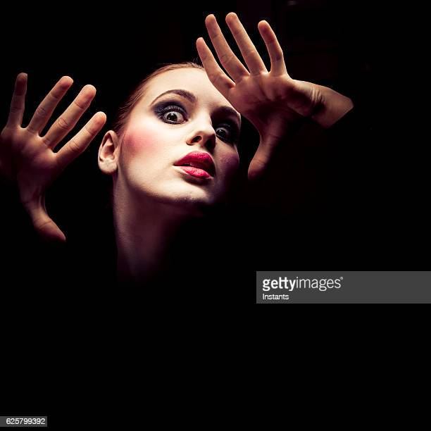 young discouraged woman - actor stock pictures, royalty-free photos & images