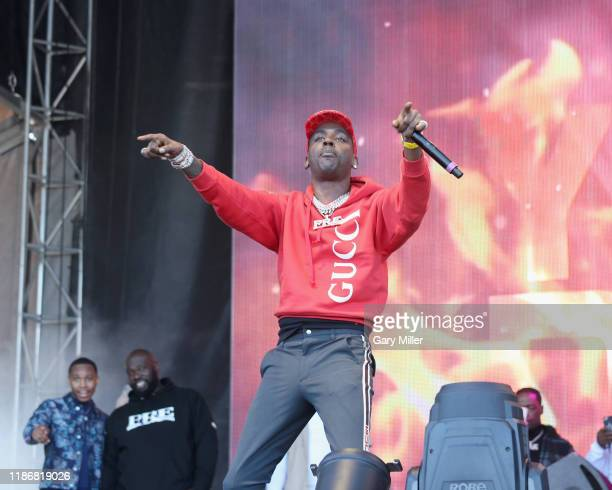 Young Dolph performs in concert during the second annual Astroworld Festival at NRG Park on November 9 2019 in Houston Texas