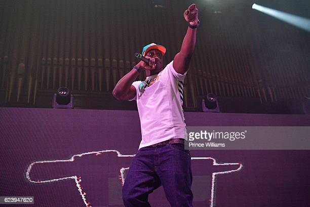 Young Dro performs at the PartyNextDoor and Jeremih: Summer's Over Tour at The Tabernacle on November 14, 2016 in Atlanta, Georgia..