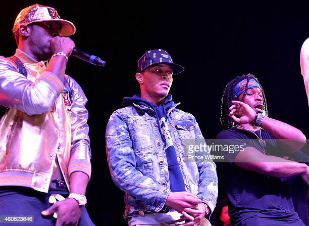 Young Dro, T.I. And Rashaad Perform at the 5th annual Street execs Christmas Concert at The Tabernacle on December 22, 2014 in Atlanta, Georgia.