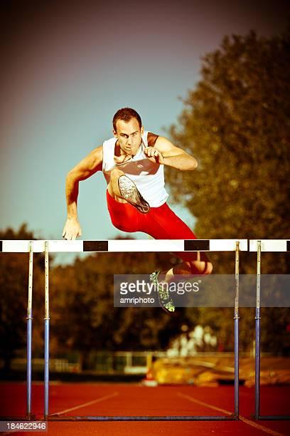 Giovane atleta dinamico
