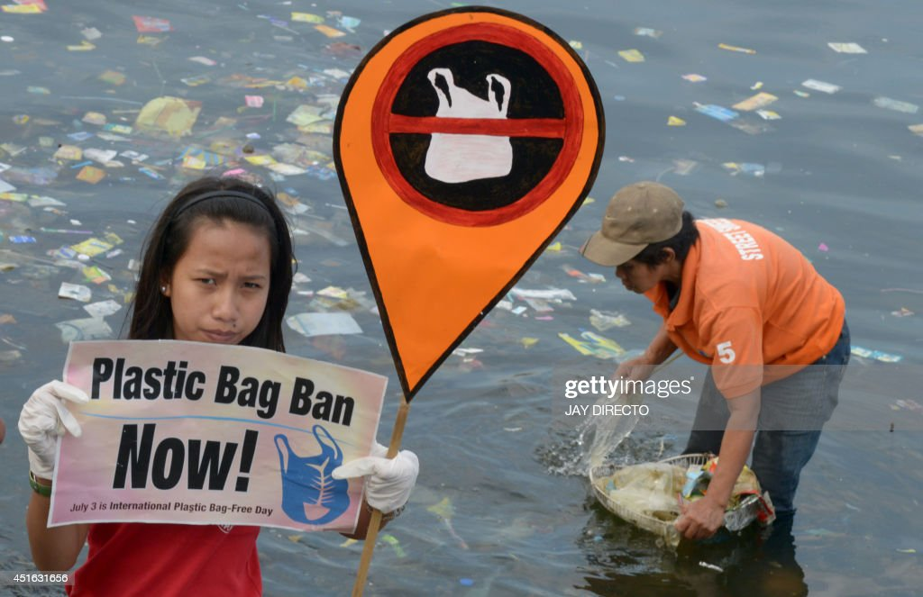 PHILIPPINES-ENVIRONMENT-POLLUTION-WASTE : News Photo