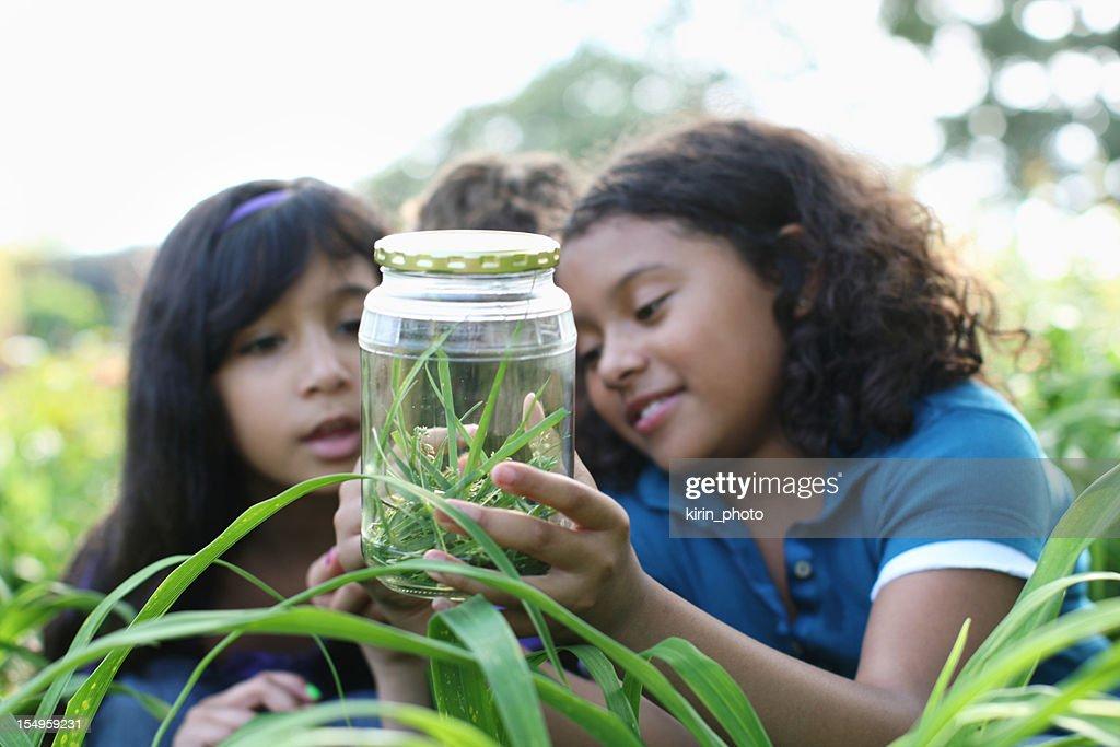 Young explorers : Stock Photo