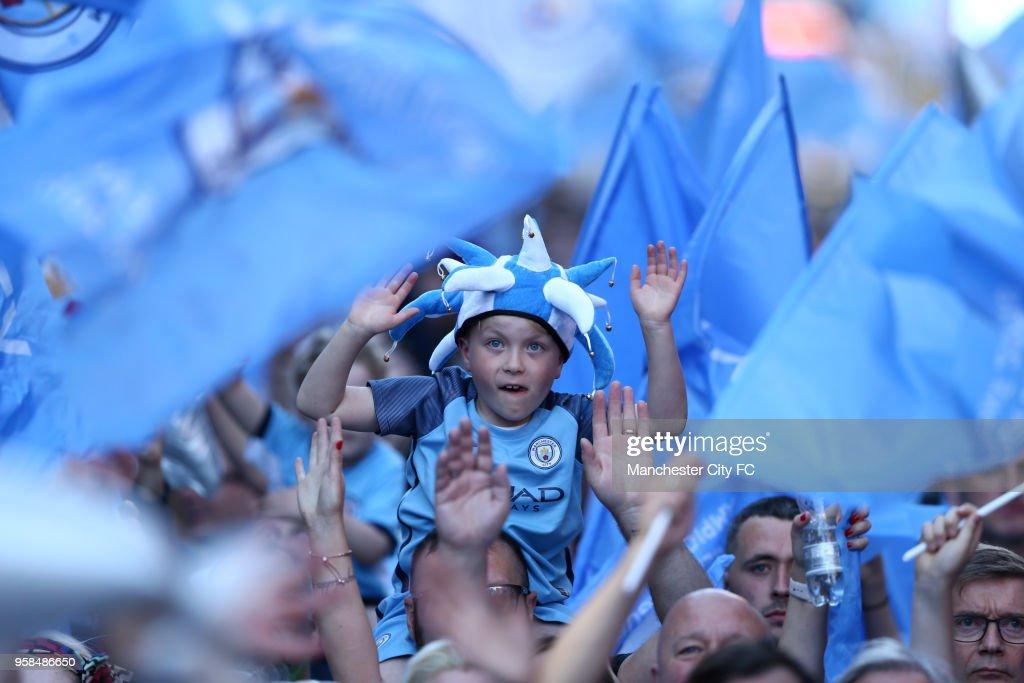 Manchester City Trophy Parade : News Photo