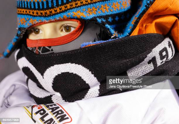 A young fan watches the game between the Ottawa Senators and the Montreal Canadiens during the of the 2017 Scotiabank NHL100 Classic at Lansdowne...
