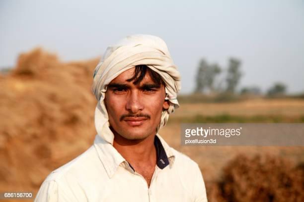 Young farmer portrait