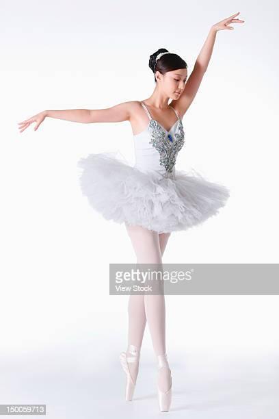 Young female ballerina