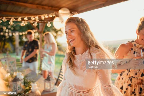 young female dancing - gazebo stock pictures, royalty-free photos & images