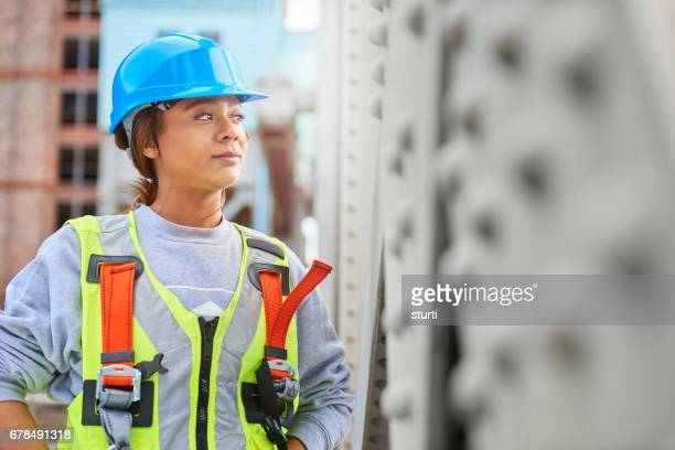 young female engineer