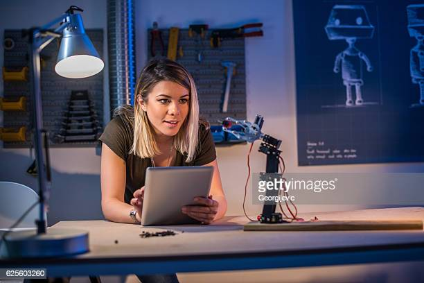 Young female researcher