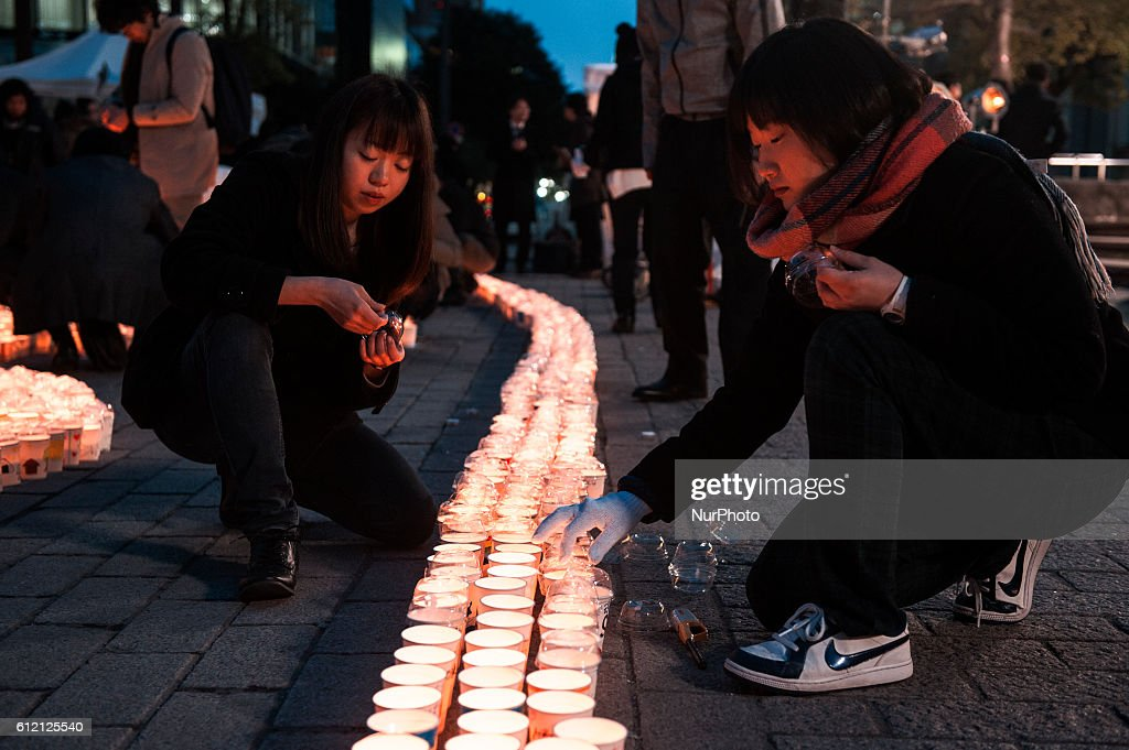 Five years after Great Japan Earthquake and Fukushima nuclear disaster : News Photo