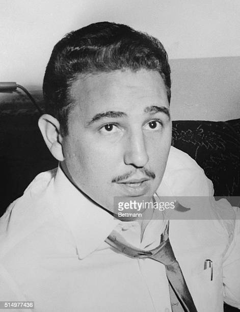 It was a beardless rather boyish Fidel Castro who was busy raising funds for a Cuban Revolution in 1955 The scene was New York City where Castro was...