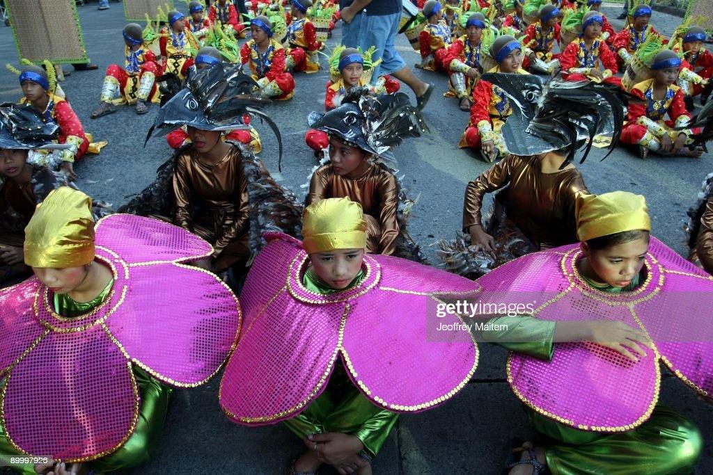 Davao Celebrates Annual Kadayawan Festival : News Photo
