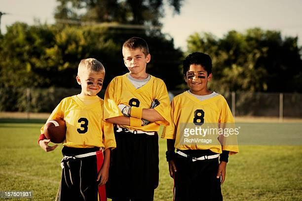 Young Flag Football Players