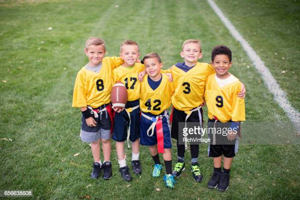 Young Flag Football Team Team Picture