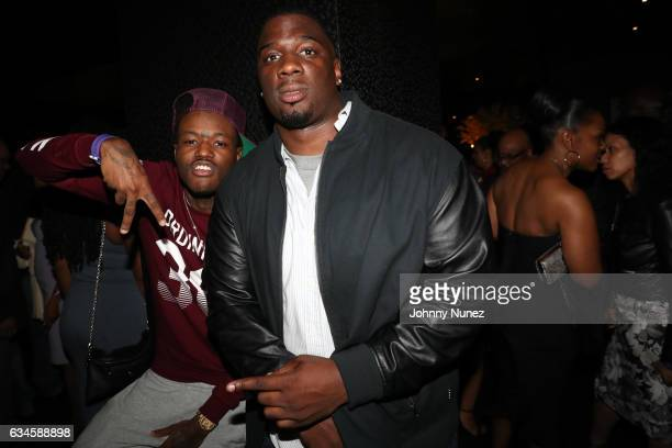 DC Young Fly and Donovan attend the Annual PreGrammy Reception hosted by Ted Reid at STK on February 9 2017 in Los Angeles California