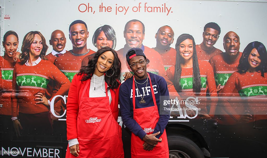 Almost Christmas Movie.Dc Young Fly And Keri Hilson Promote Almost Christmas Movie