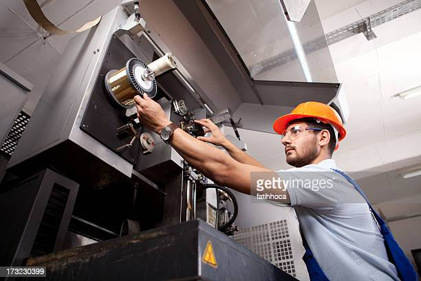 young foreman - manufacturing equipment stock pictures, royalty-free photos & images