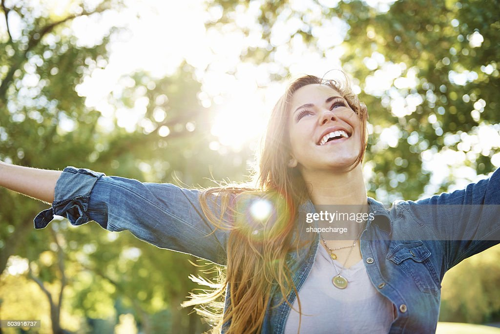 Young, free and wild : Stock Photo