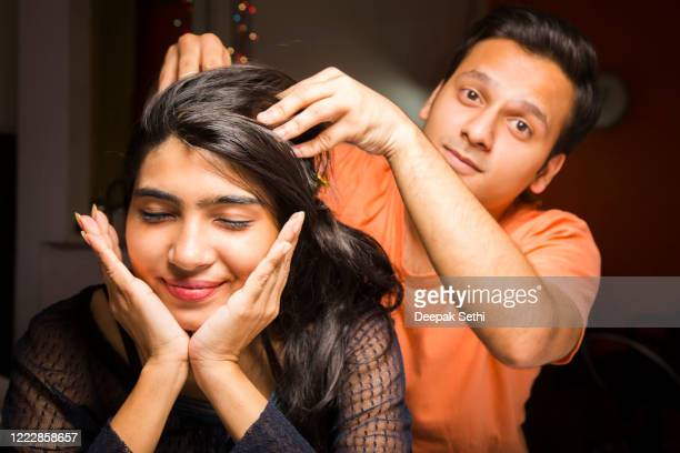 young friends - stock images - massage funny stock pictures, royalty-free photos & images