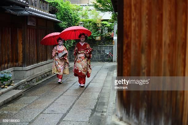 Young geishas