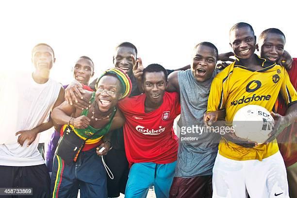 Jeune ghanians.