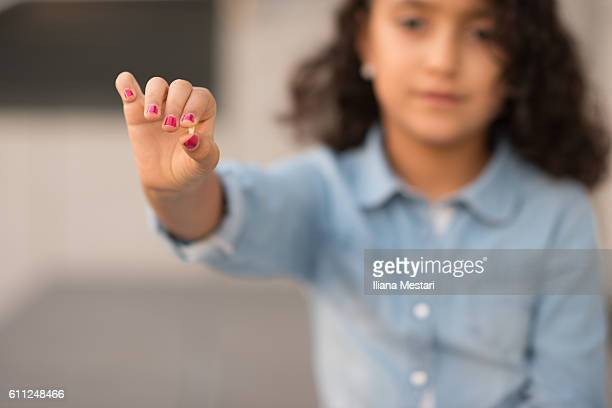 a young girl changing teeth - tooth fairy stock pictures, royalty-free photos & images