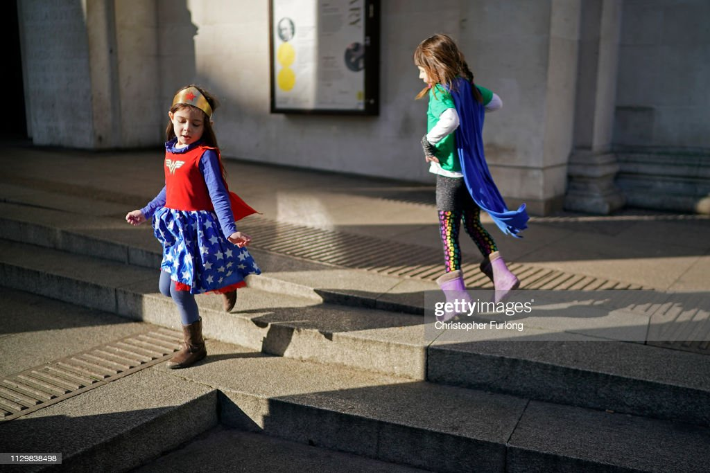 Schoolchildren Across The UK Go On Climate Strike : News Photo