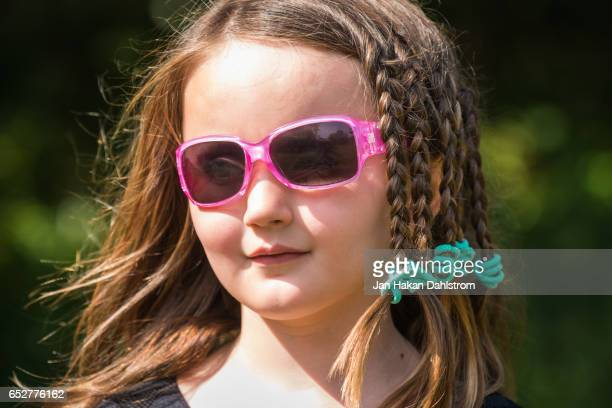 Young girl in sun glasses