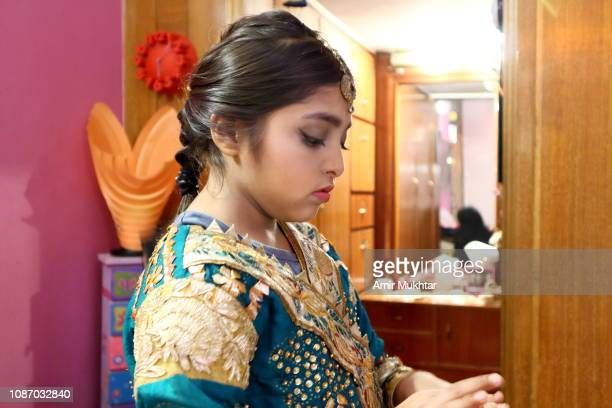 52 Indian Girl In Wedding Dress Photos And Premium High Res Pictures Getty Images,Elegant Sophisticated Wedding Mehndi Elegant Sophisticated Wedding Bridal Dresses 2020