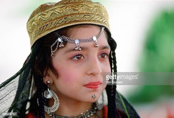 Young Girl In Traditional Clothing Pakistan