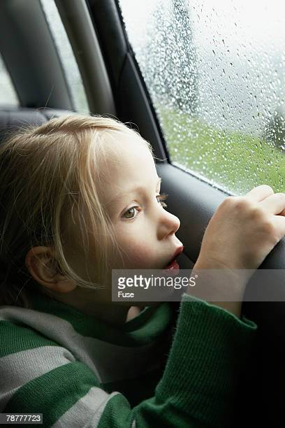 Young Girl Looking Out