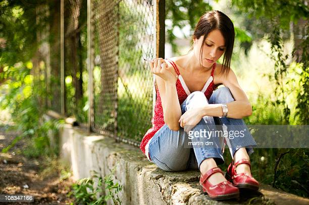 young girl - self harm stock photos and pictures