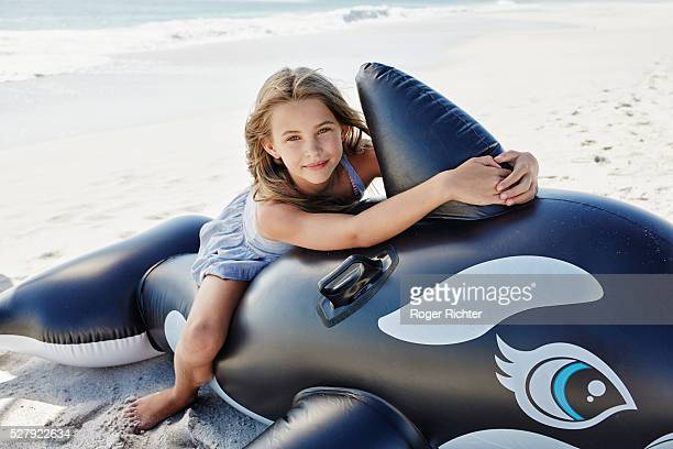 Inflatable Whale Girls Stock Photos And Pictures  Getty Images-6124