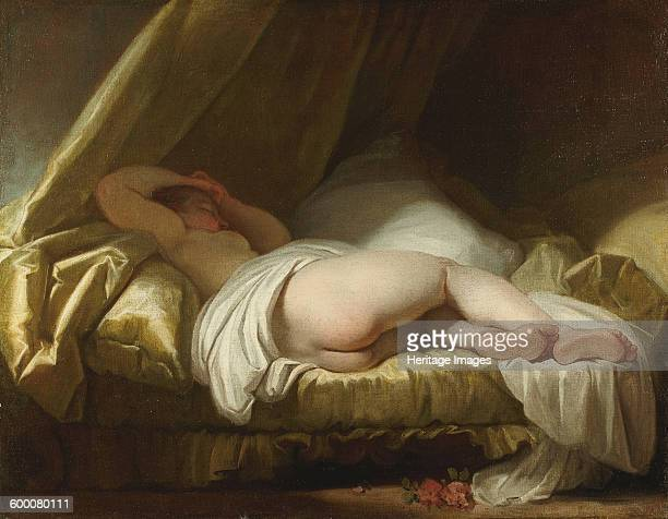 Young girl sleeping Between 1758 and 1761 Private Collection Artist Fragonard Jean Honoré