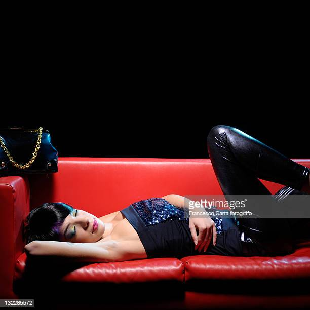 young girl sleeping - tempio pausania stock pictures, royalty-free photos & images