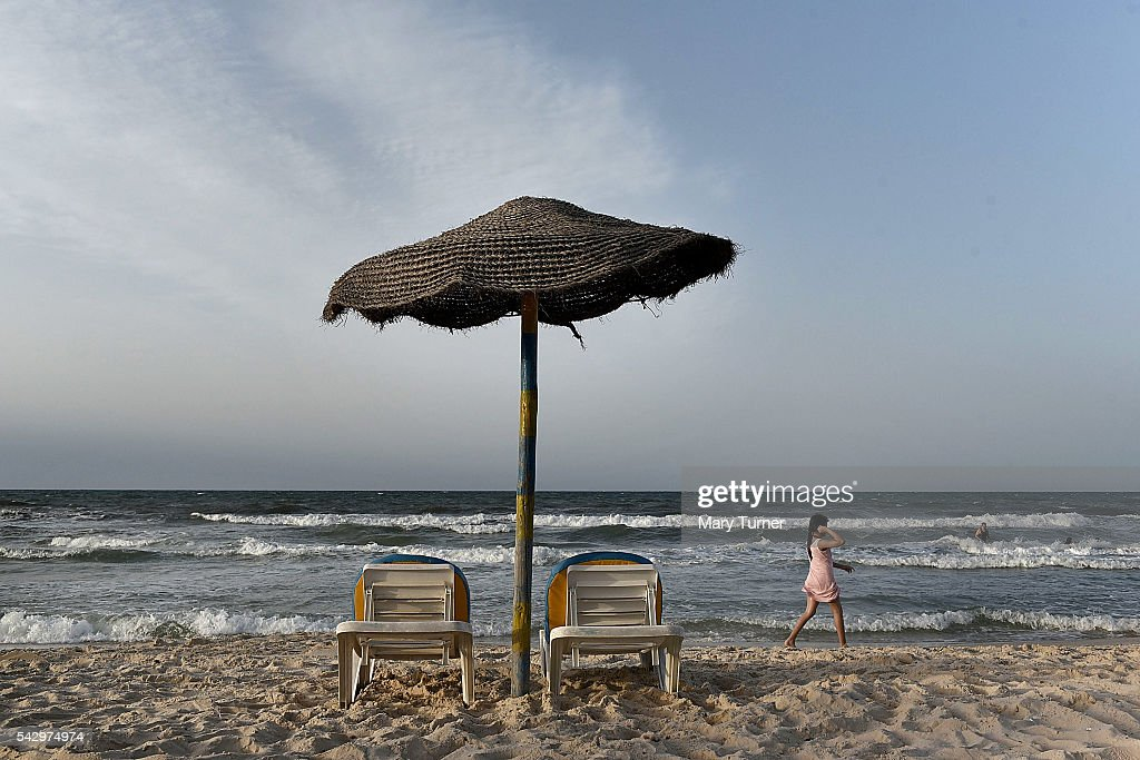 Downward Turn In Tunisian Tourism Since 2015 Beach Attacks : News Photo