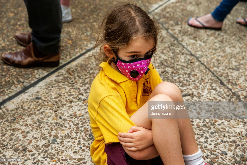Activists Rally For Climate Action As NSW Battles Bushfires : News Photo