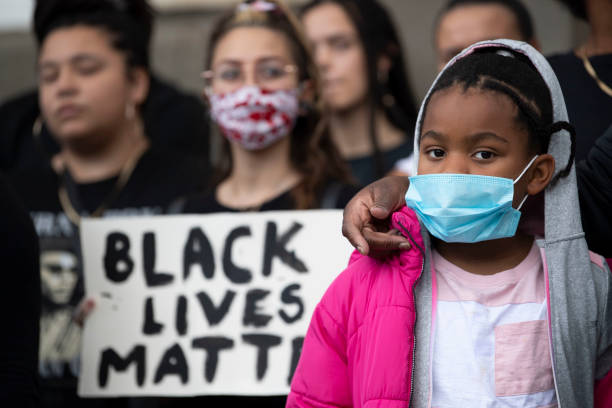 GBR: Black Lives Matter Rallies Continue Across The UK