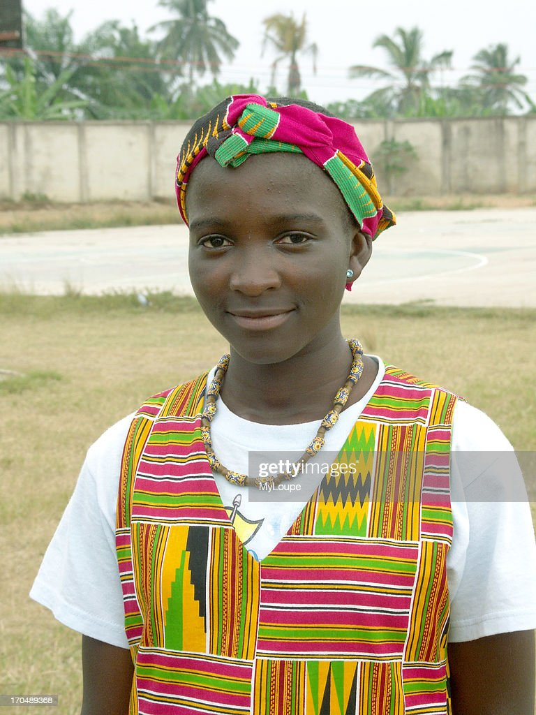 Young Girl, Cape Coast, Ghana : News Photo