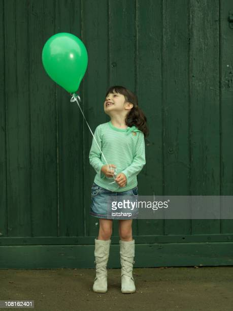Young Girl with Balloon