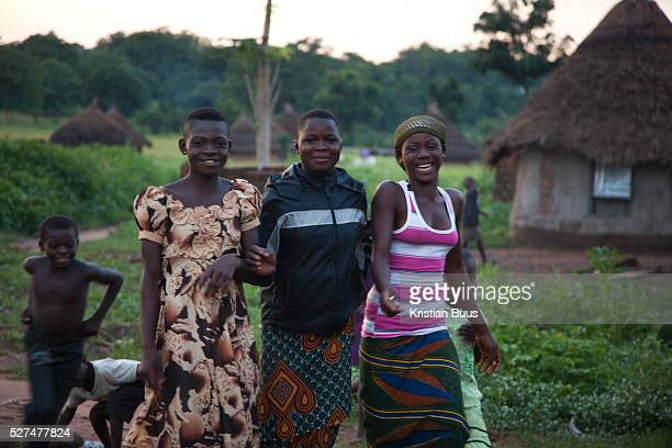 Young girls made up for the night Benue state has got one of the highest HIV prevalence in Nigeria and EVA aim to target vulnerable children who...