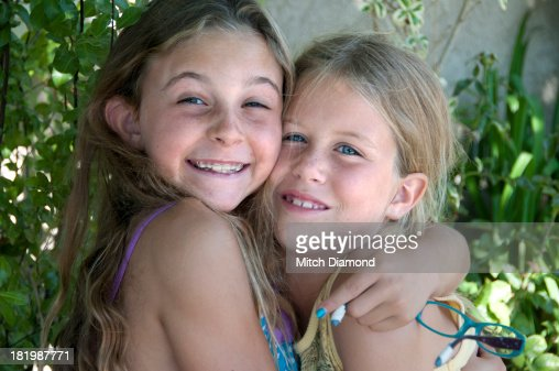 Young Girls Together Stock Photo  Getty Images-9234