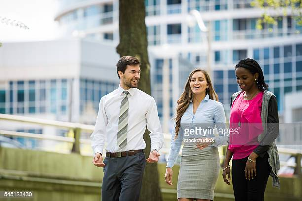 Young group of business professionals