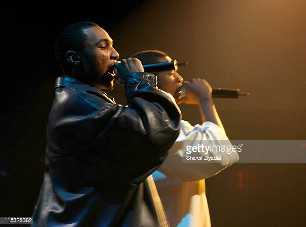 Young Gunz during Fuse and Hot 97 Present Full Frontal Hip Hop with Host Lil' Kim at Webster Hall in New York, New York, United States.