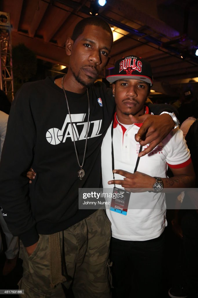 Young Guru and Eric Hudson attend the 2014 Essence Music Festival on July 5, 2014 in New Orleans, Louisiana.
