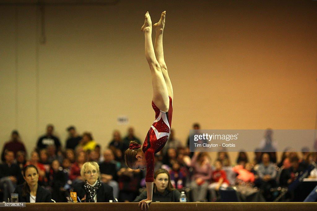 Gymnastics. 21st American Invitational 2014. XL Centre. Hartford, Connecticut, USA. : ニュース写真