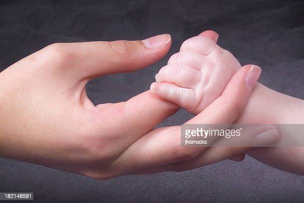 Junge Hände