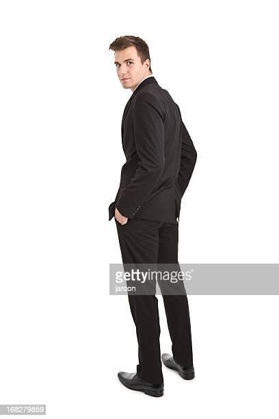 若いハンサムなビジネスマン